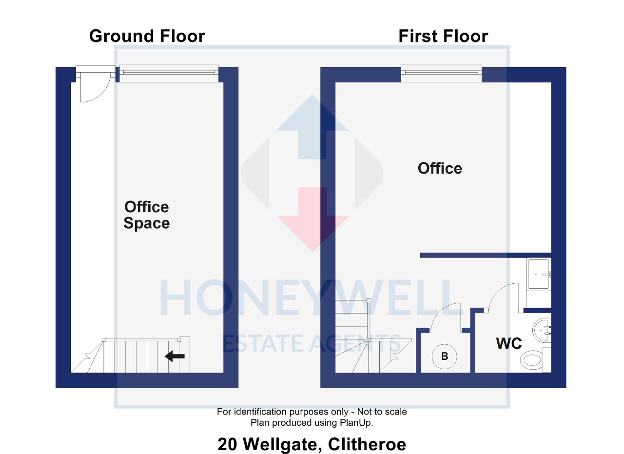 Floorplan of Wellgate, Clitheroe, BB7 2DP